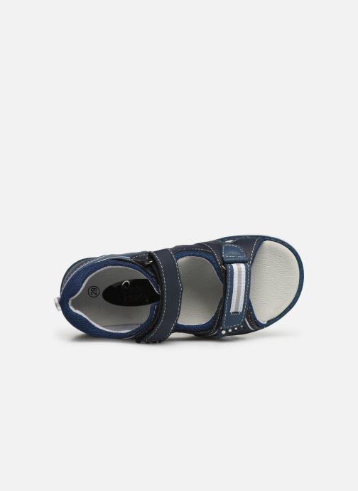 Sandalias I Love Shoes THAKO Azul vista lateral izquierda
