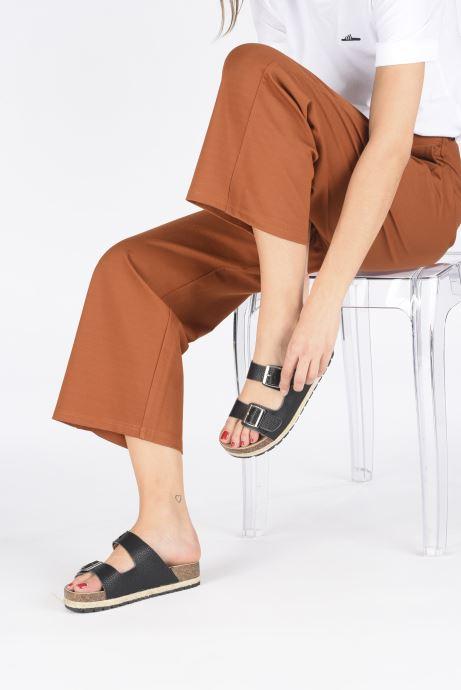 Mules et sabots I Love Shoes THASMIN Noir vue bas / vue portée sac