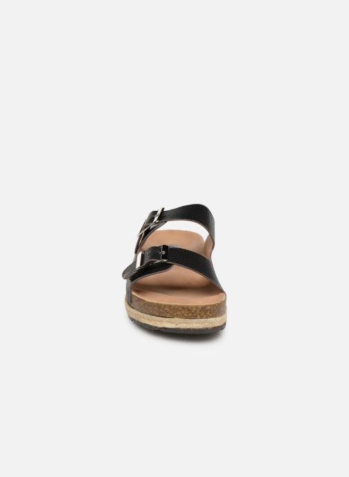 Zuecos I Love Shoes THASMIN Negro vista del modelo