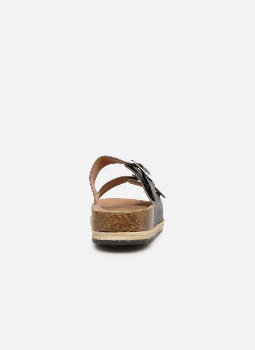 Zuecos I Love Shoes THASMIN Negro vista lateral derecha