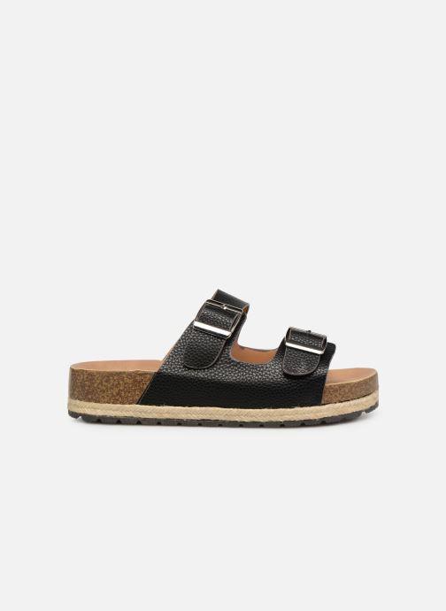 Zuecos I Love Shoes THASMIN Negro vistra trasera