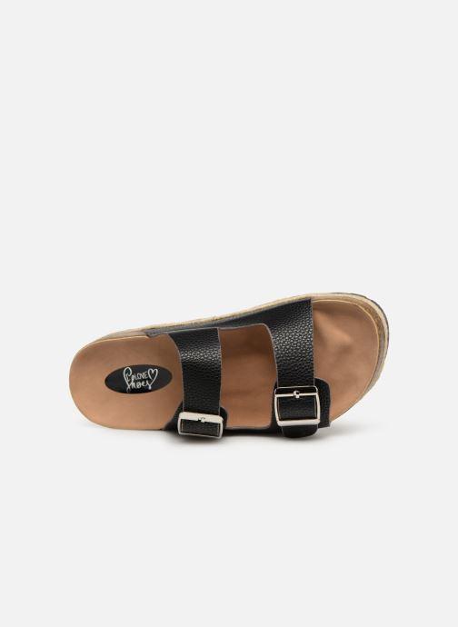 Zoccoli I Love Shoes THASMIN Nero immagine sinistra