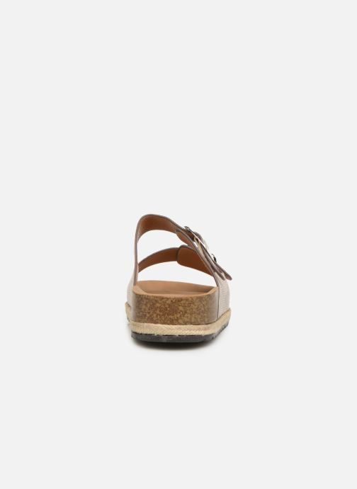 Zuecos I Love Shoes THASMIN Beige vista lateral derecha