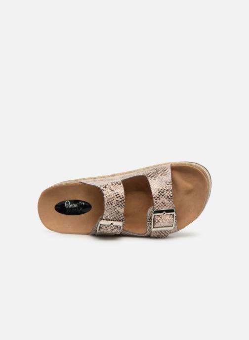 Mules et sabots I Love Shoes THASMIN Beige vue gauche