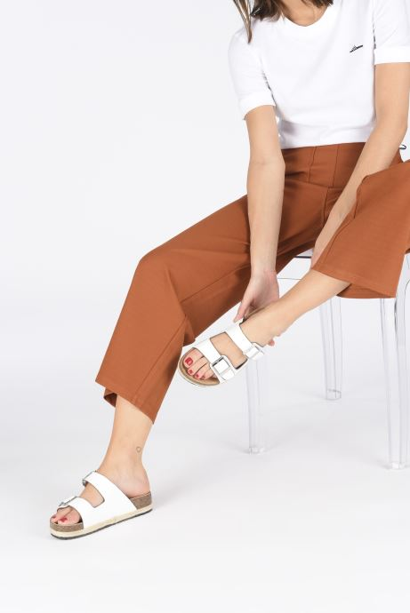 Mules et sabots I Love Shoes THASMIN Blanc vue bas / vue portée sac