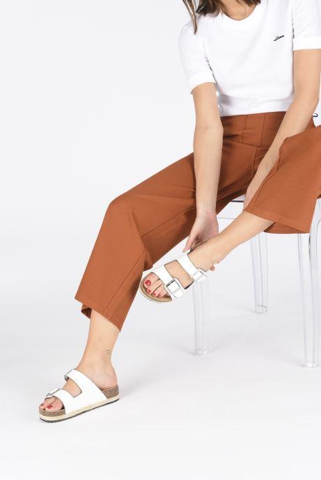 Zoccoli I Love Shoes THASMIN Bianco immagine dal basso