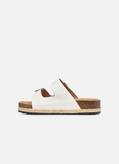 Mules et sabots I Love Shoes THASMIN Blanc vue face