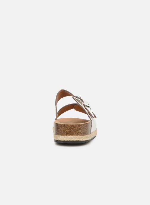 Zuecos I Love Shoes THASMIN Blanco vista lateral derecha
