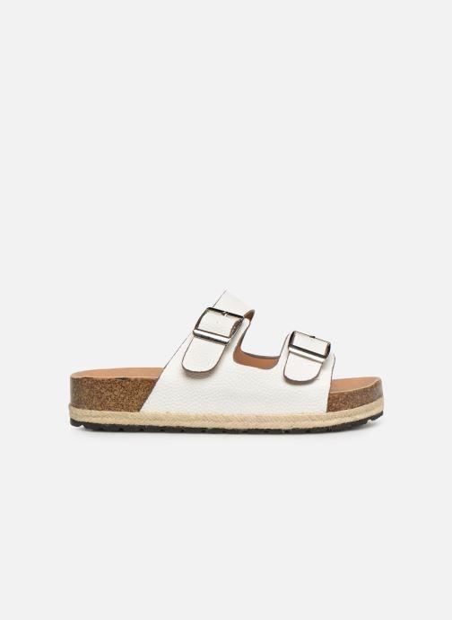 Zuecos I Love Shoes THASMIN Blanco vistra trasera