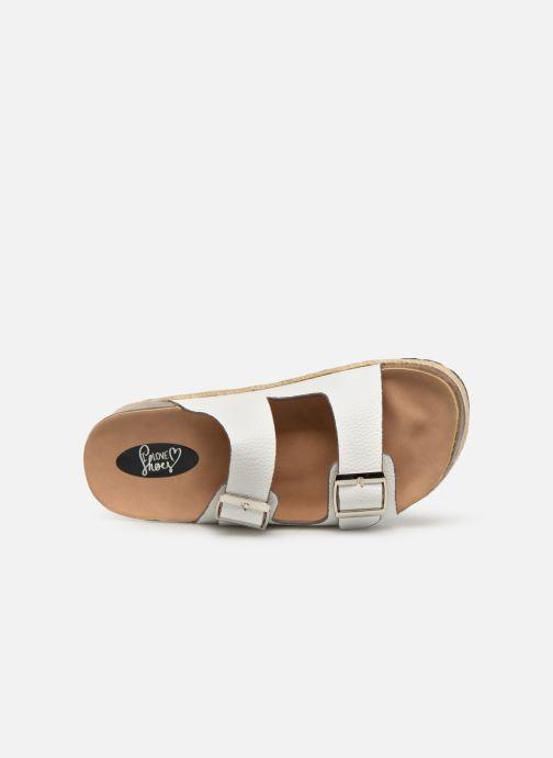 Zuecos I Love Shoes THASMIN Blanco vista lateral izquierda
