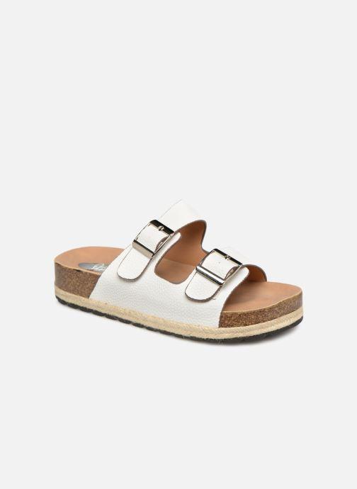 Zuecos I Love Shoes THASMIN Blanco vista de detalle / par