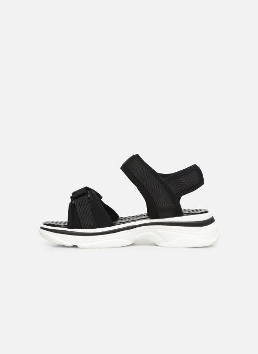 Sandales et nu-pieds I Love Shoes THILY Noir vue face