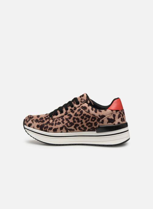 Sneakers I Love Shoes THILEO Brun bild från framsidan