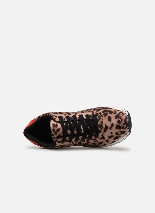 Sneaker I Love Shoes THILEO braun ansicht von links