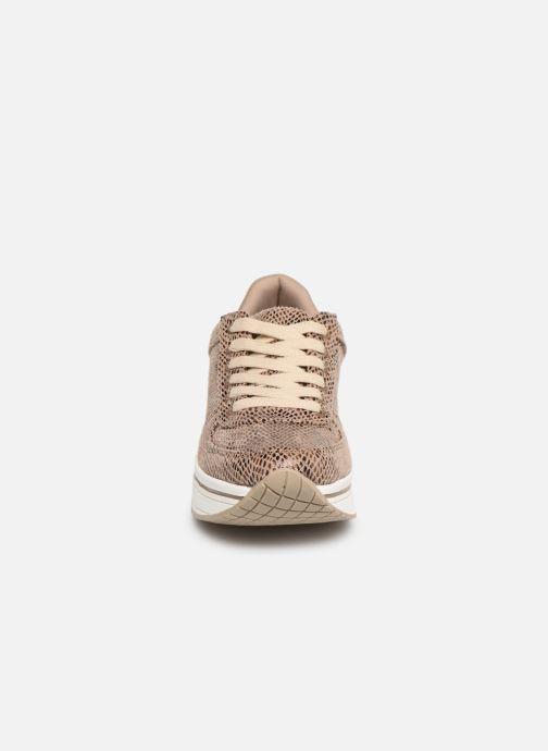 Sneakers I Love Shoes THILEO Marrone modello indossato