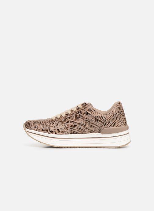Baskets I Love Shoes THILEO Marron vue face