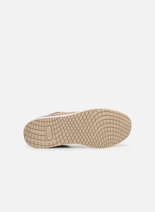 Baskets I Love Shoes THILEO Marron vue haut