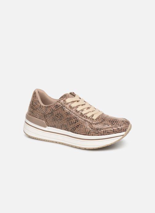 Baskets I Love Shoes THILEO Marron vue détail/paire