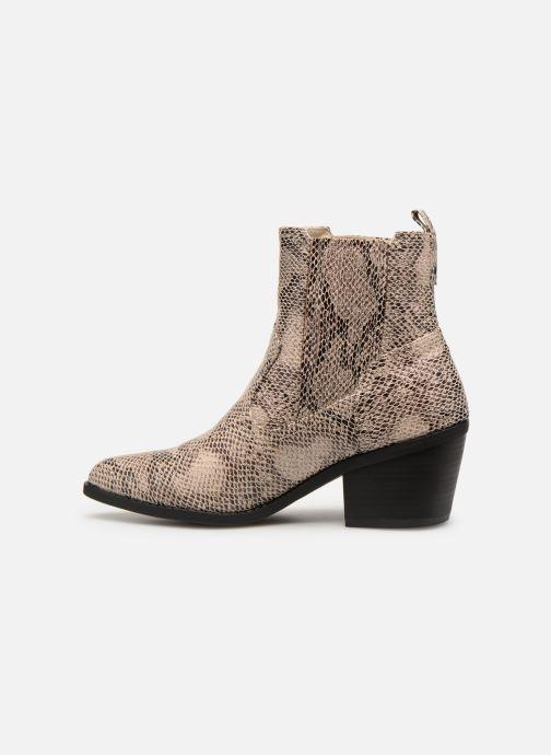 Ankelstøvler I Love Shoes THITIAG Beige se forfra