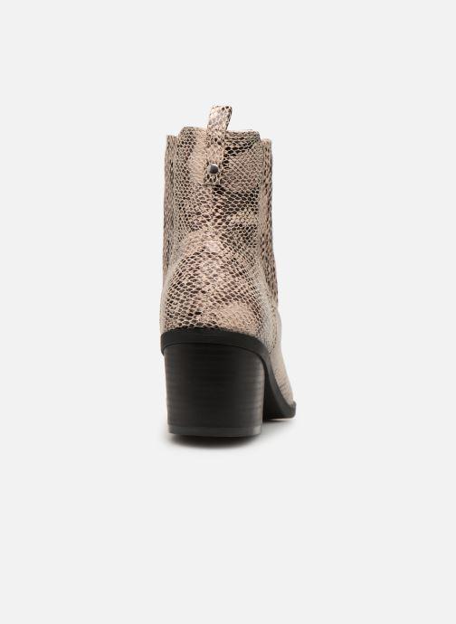 Ankelstøvler I Love Shoes THITIAG Beige Se fra højre