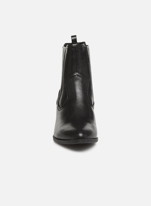 Stivaletti e tronchetti I Love Shoes THITIAG Nero modello indossato