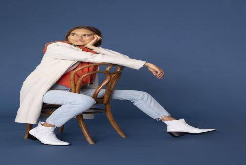 Stiefeletten & Boots I Love Shoes THITIAG weiß ansicht von unten / tasche getragen