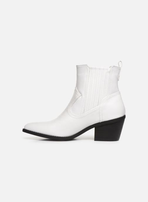 Boots en enkellaarsjes I Love Shoes THITIAG Wit voorkant