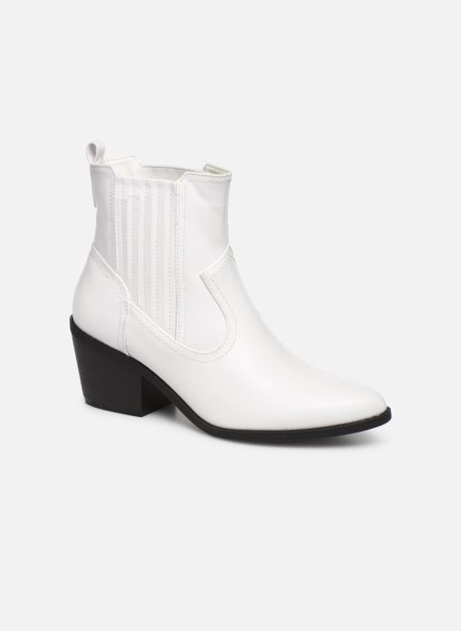 Ankle boots I Love Shoes THITIAG White detailed view/ Pair view