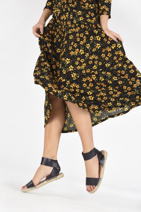 Sandalias I Love Shoes THUC Negro vista de abajo