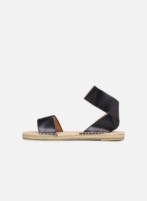 Sandalias I Love Shoes THUC Negro vista de frente