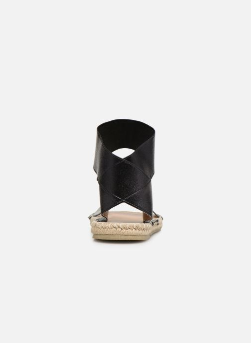 Sandales et nu-pieds I Love Shoes THUC Noir vue droite