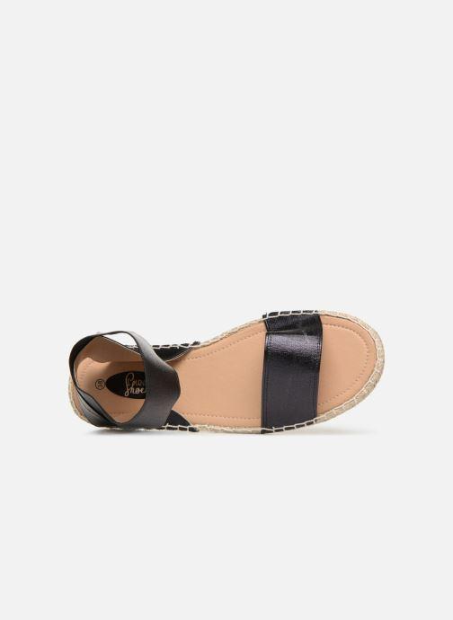 Sandales et nu-pieds I Love Shoes THUC Noir vue gauche