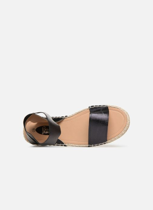 Sandalias I Love Shoes THUC Negro vista lateral izquierda