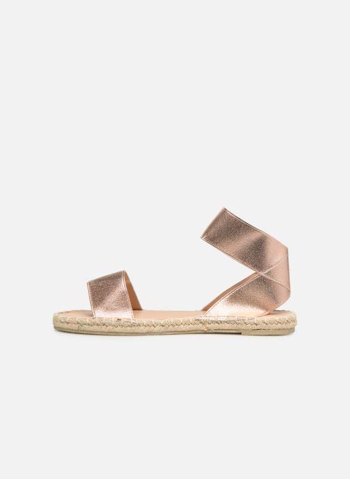 Sandales et nu-pieds I Love Shoes THUC Rose vue face