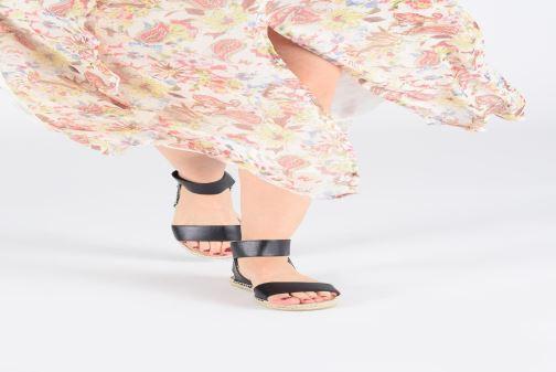Sandales et nu-pieds I Love Shoes THUC Rouge vue bas / vue portée sac