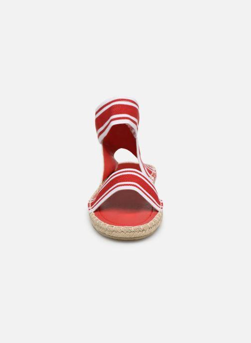 Sandales et nu-pieds I Love Shoes THUC Rouge vue portées chaussures