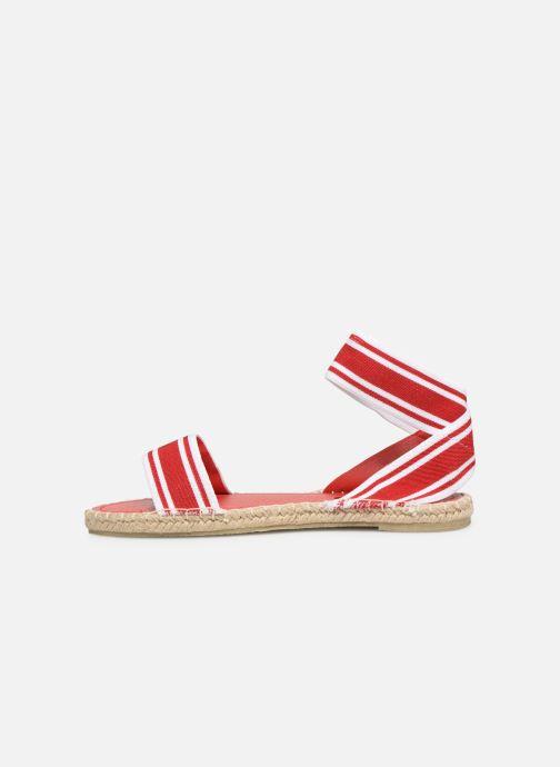 Sandales et nu-pieds I Love Shoes THUC Rouge vue face