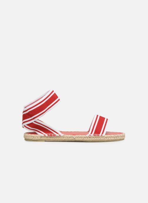Sandales et nu-pieds I Love Shoes THUC Rouge vue derrière