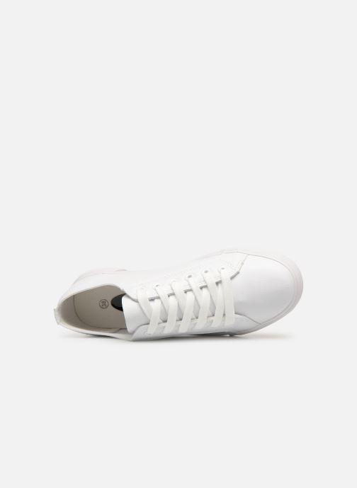 Baskets I Love Shoes THIA Blanc vue gauche
