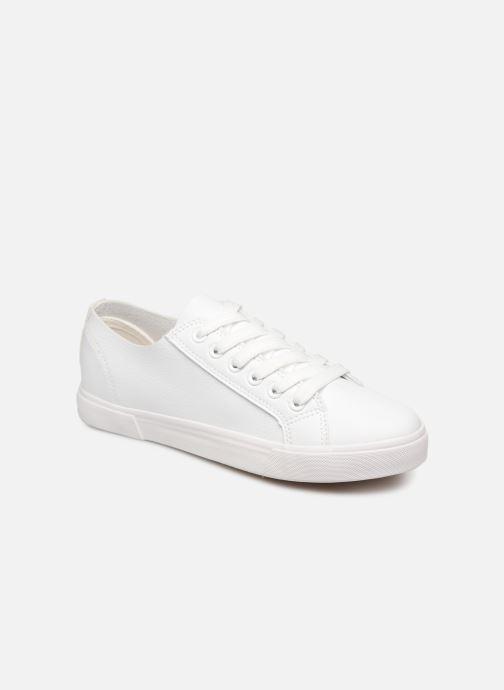 Baskets I Love Shoes THIA Blanc vue détail/paire