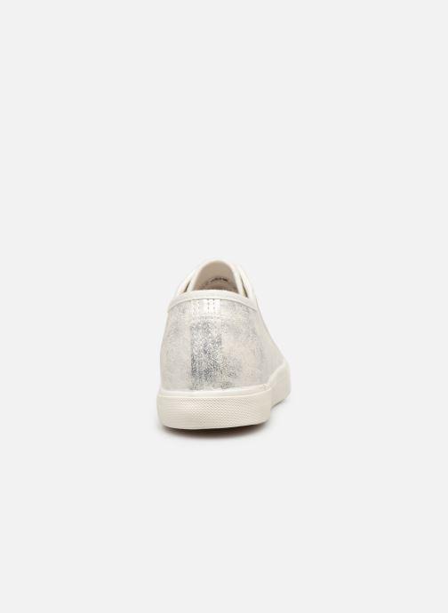 Baskets I Love Shoes THIA Argent vue droite