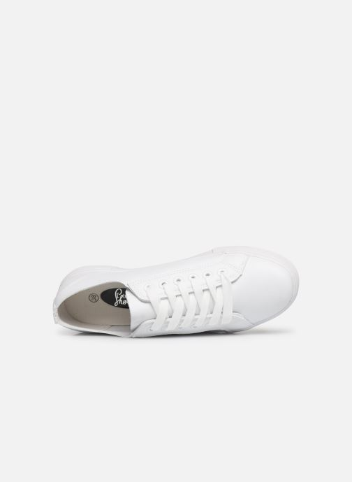 Baskets I Love Shoes THIA Blanc vue gauche