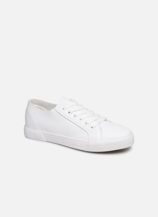 Baskets I Love Shoes THIA Blanc vue détail/paire