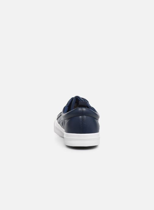 Deportivas I Love Shoes THUDOR Azul vista lateral derecha