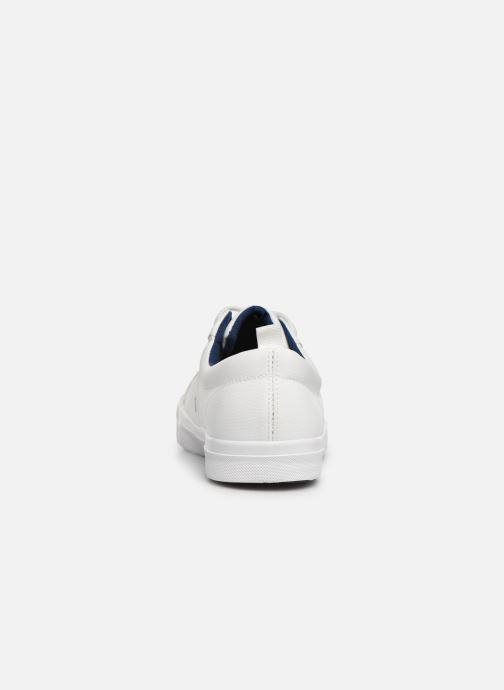 Deportivas I Love Shoes THUDOR Blanco vista lateral derecha