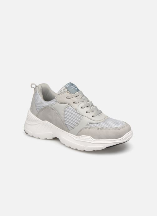 Trainers I Love Shoes THITOUAN bold Grey detailed view/ Pair view