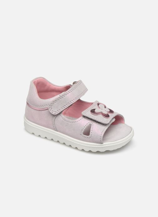 Sandals Superfit Lettie Pink detailed view/ Pair view