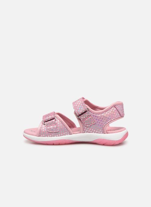 Sandaler Superfit Sunny Pink se forfra