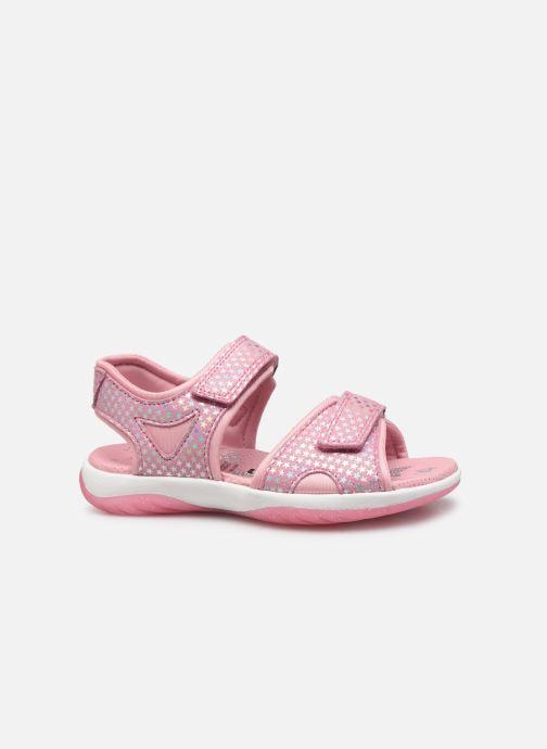 Sandaler Superfit Sunny Pink se bagfra