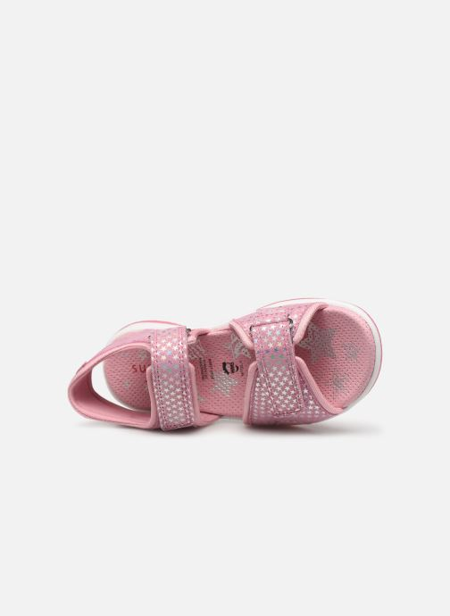 Sandals Superfit Sunny Pink view from the left